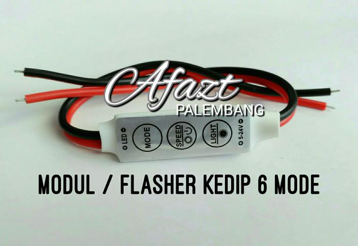 harga Modul rangkaian strobo kedip flasher led 6 mode, touring Tokopedia.com