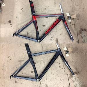 Jual Frame Roadbike Mosso 739 TCA Alloy Fork Carbon Bukan Ar ...