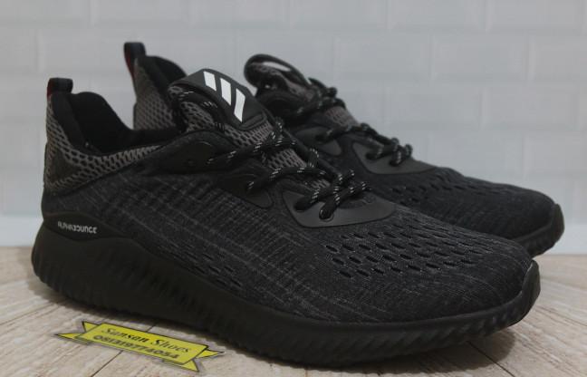 0f30486e3 Jual Sepatu Adidas Alphabounce Triple Black - SansanShoes