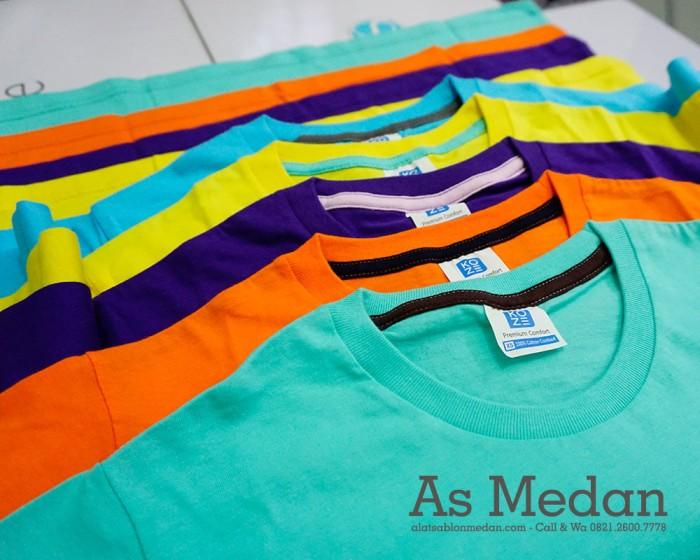 Foto Produk Kaos Polos Koze Premium Comfort Baju Kaos Sablon Cotton Combed 30's dari ALAT SABLON MEDAN