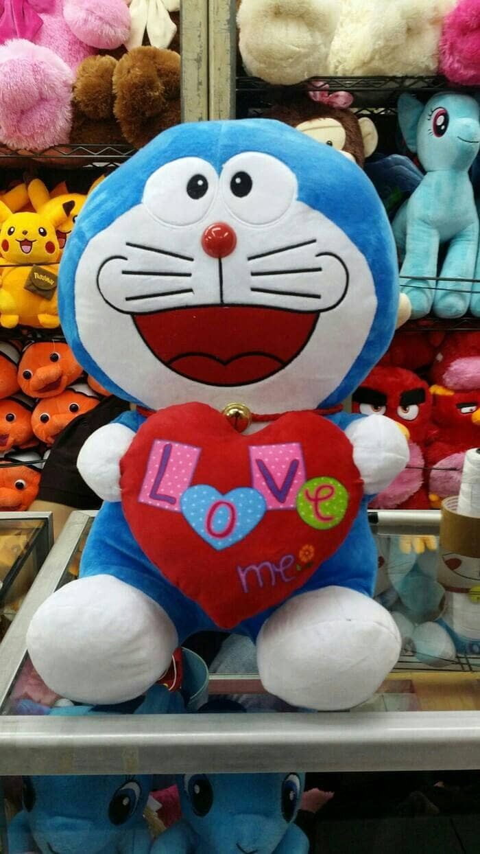 Jual Boneka Doraemon Love Kota Surabaya Afifa Adonia