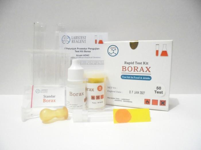 Foto Produk Test Kit Bleng / Boron, Alat Untuk Menguji Kandungan Asam Borat H3BO3 dari Labs Test Kit