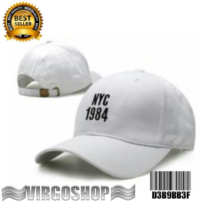 Jual Topi basseball white NYC 1984 Best Quality virgoshop clothing ... 1cb37c50bf
