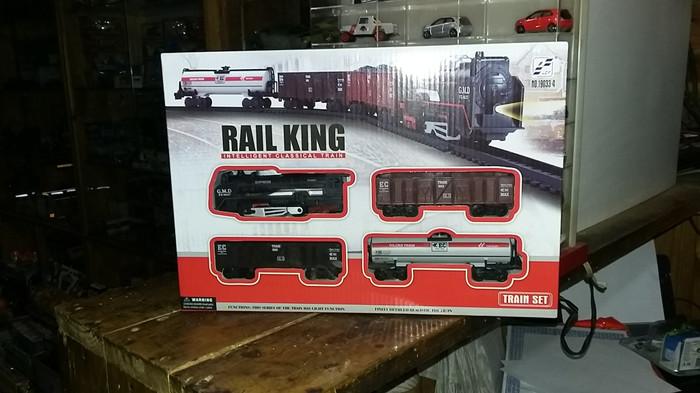 harga Miniatur kereta api rail king lampu bisa menyala Tokopedia.com