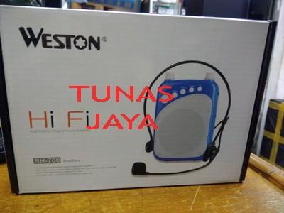 harga Waistband pa/speaker pinggang mini weston sh-760 Tokopedia.com