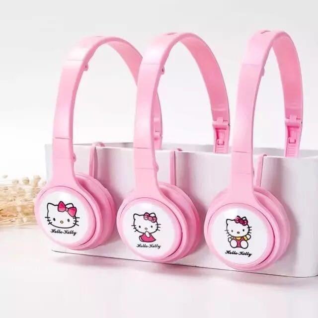 harga Headset headphone earphone ay11 hello kitty Tokopedia.com