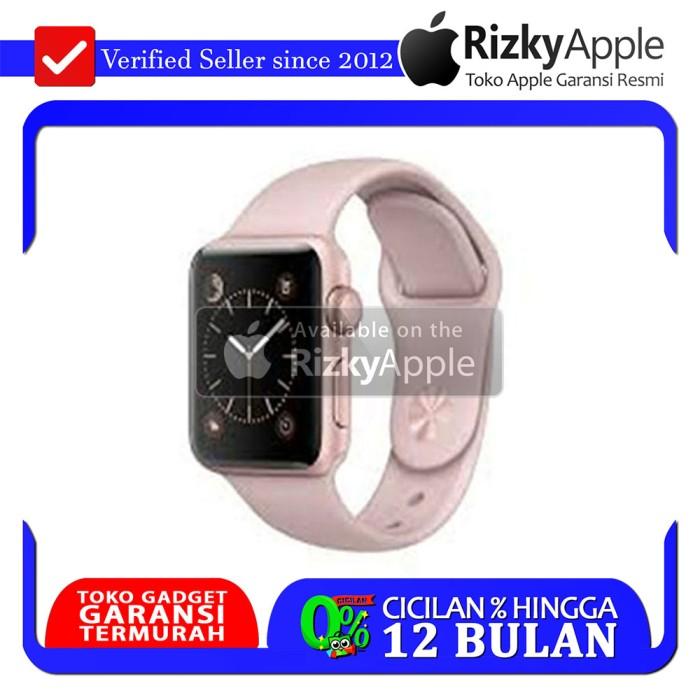 Apple Watch Series 2 Aluminum Rose Gold +Pink Lavender Sport Band 38MM