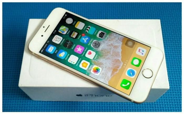 iphone 6 Gold 16GB (SU - DOC. JAPAN) +Rsim x Resmi Apple FULLSET MURAH f289696f32