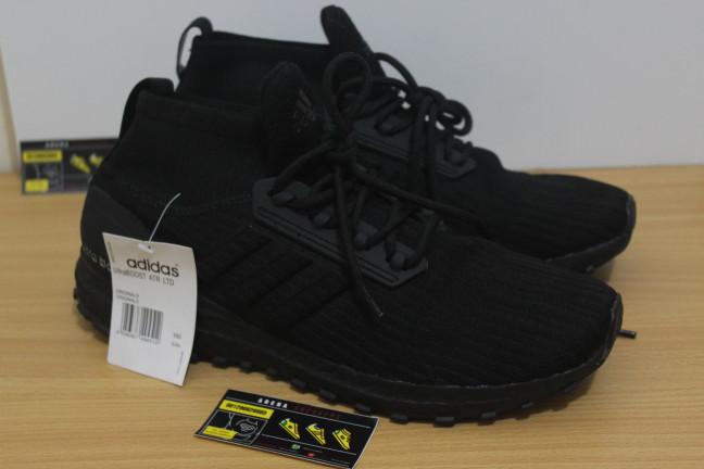 fb2a4fadf0332 Jual Sepatu Adidas Ultra Boost ATR Mid Triple Black - Premium ...