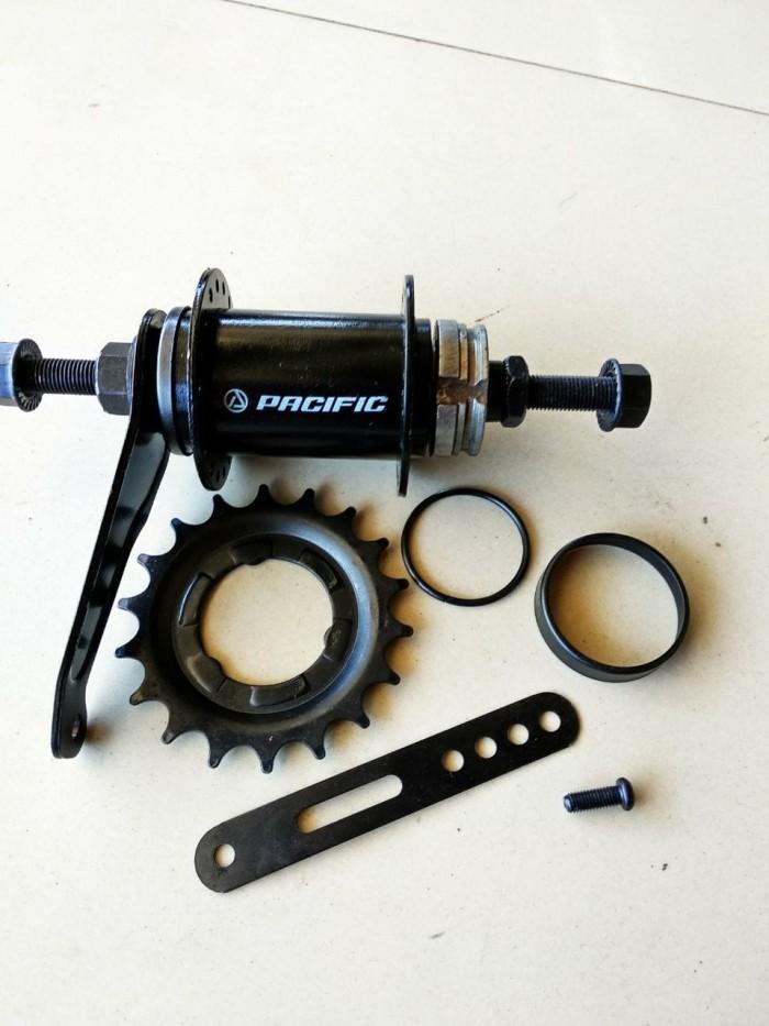 Foto Produk Hub Nap torpedo sepeda BMX fixie 36 hole 18T dari yonk bike