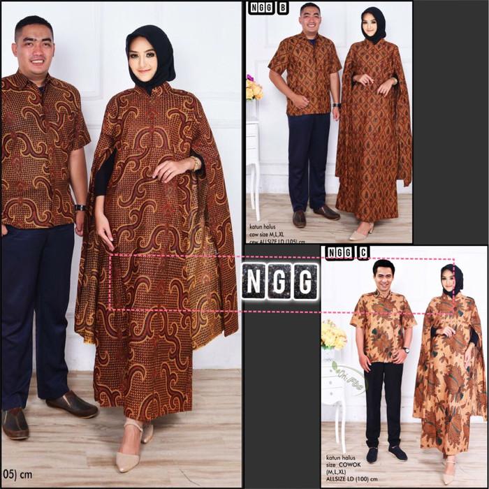 Grosir Dress Maxi Nagita Salem Ezyhero Source · NGG baju couple batik sarimbit kemeja batik maxi
