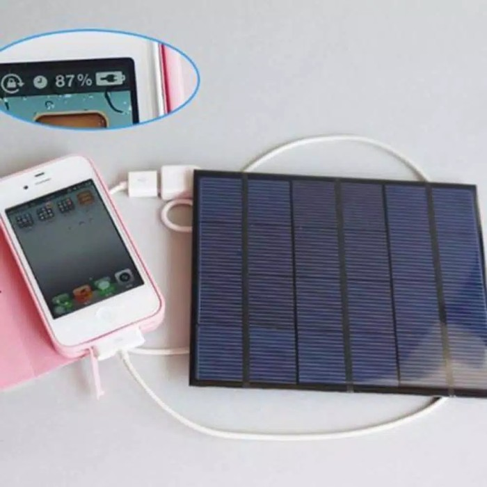 harga Charger hp panel surya - charger panel surya untuk hp dan power bank Tokopedia.com