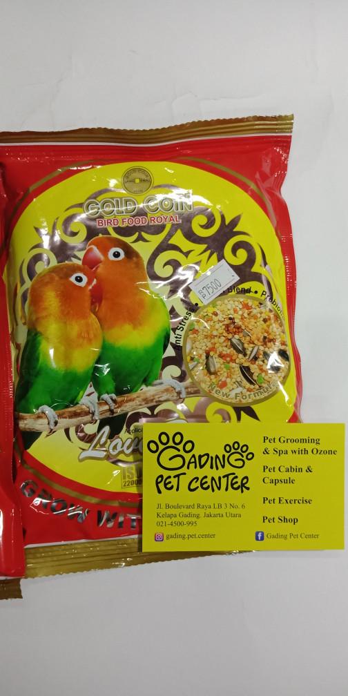 Pakan Burung Lovebird Gold Coin Tentang Kolam Kandang Ternak