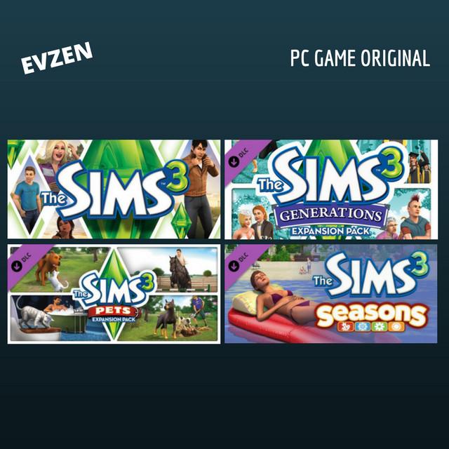 Jual The sims 3 bundle PC (STEAM) - Kota Semarang - EvZen Game | Tokopedia