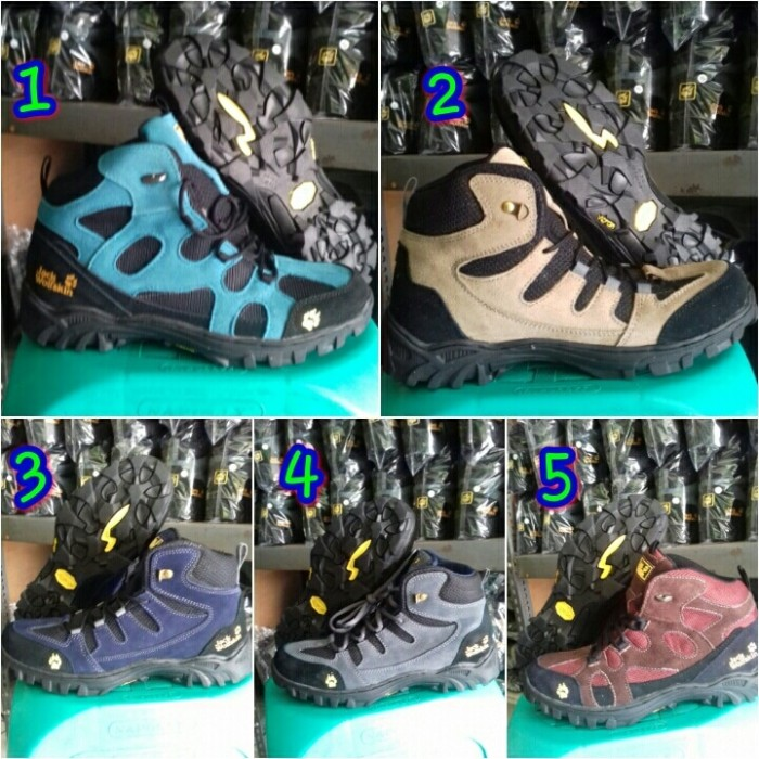 Jual Sepatu Gunung Pria Jack Wolfskin Original Kab Tangerang