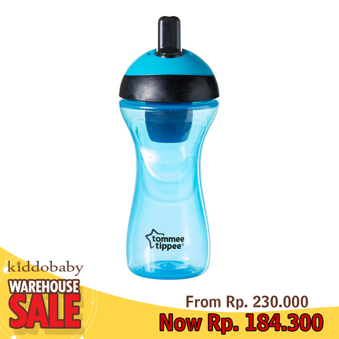 harga Sale !!! tommee tippee 12m+ active filter bottle - blue Tokopedia.com