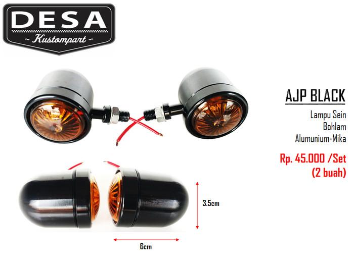 Signallight - lampu sein ajp black