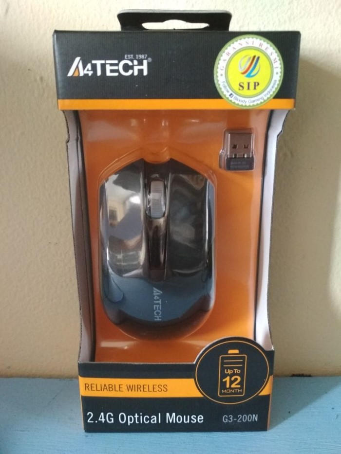 harga Mouse Gaming/wireless/game A4tech G3-200n V-track Tokopedia.com