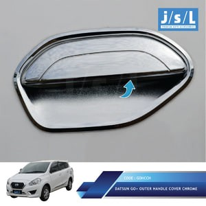 harga Datsun go cover pegangan pintu jsl krom/handle cover chrome Tokopedia.com