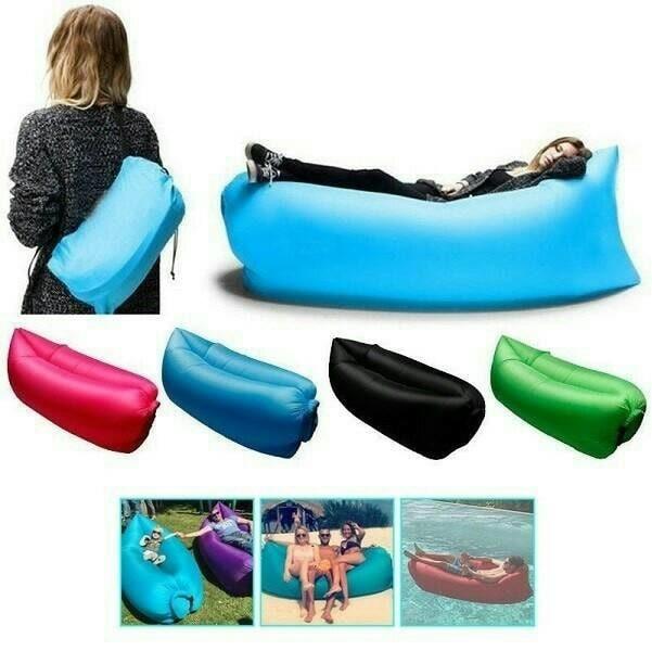 harga Kursi angin malas lazy boy air inflatable sofa bed lay fatboy travel Tokopedia.com