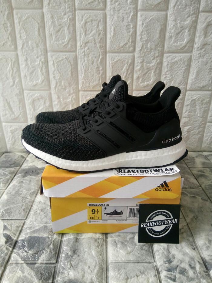 7c1e2521412 Jual Adidas Ultraboost 2.0 Black White Unauthorized Authentic - DKI ...