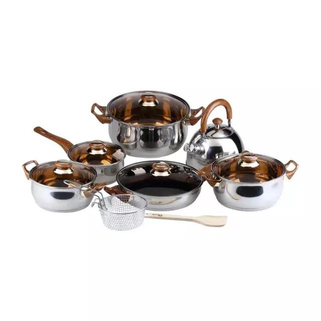 Oxone eco cookware set alat masak 12+2pcs ox-933