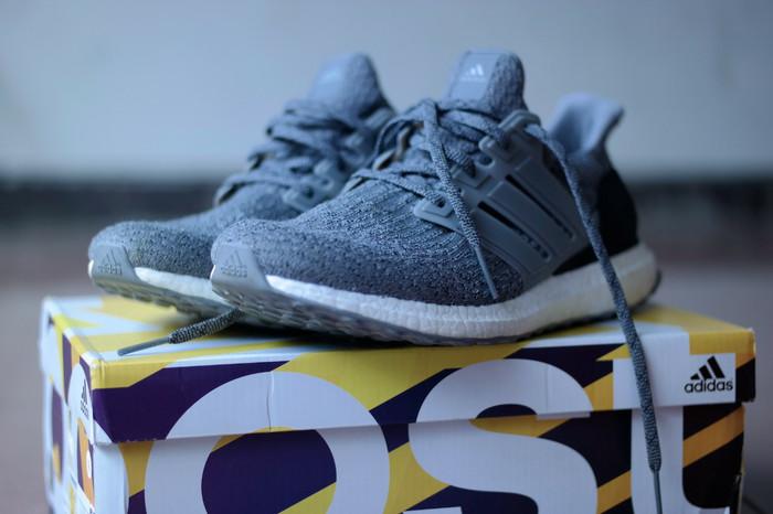 Jual Adidas Ultra Boost 3.0 Grey Three VVNDS!! DKI Jakarta doubel8 Store | Tokopedia