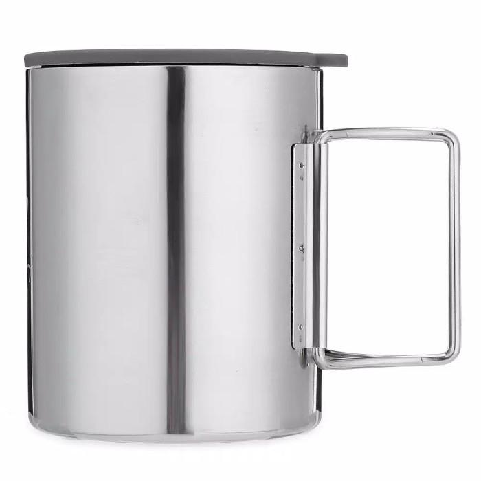 harga [bulin] cangkir stainless double wall dilengkapi tutup - mug - gelas Tokopedia.com