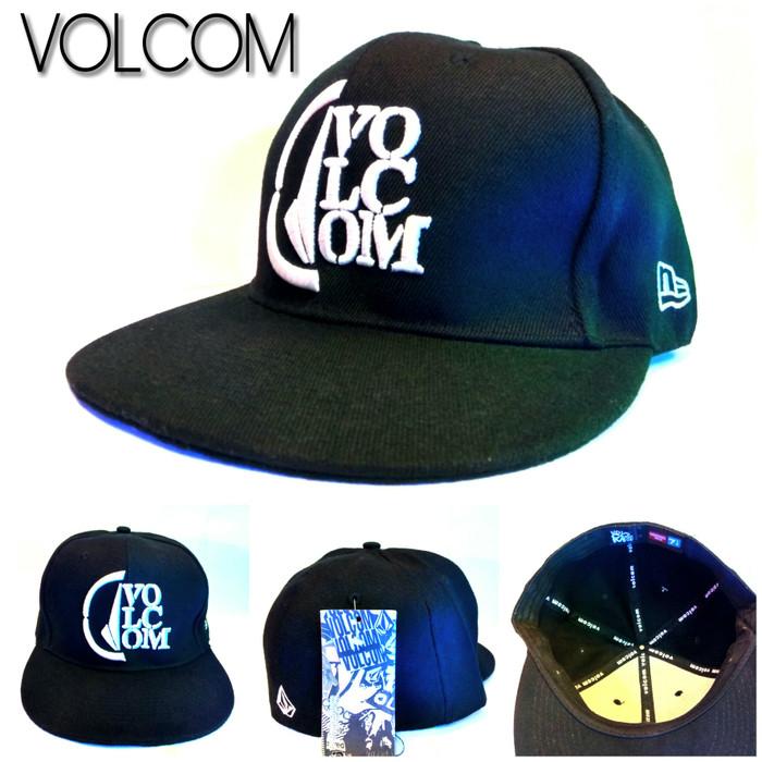 Jual Topi Snapback Volcom Original Import - Topi Volcom Flexfit ... a3d343cd6e6
