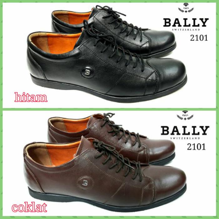 ... harga Sepatu pantofel pria kerja formal bally leather smooth keren  bagus Tokopedia.com 3d4805471b