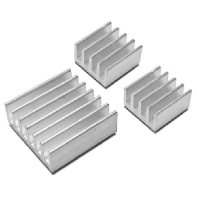 3PCS One Aluminum Heatsink Cooler Adhesive Kit for Cooling