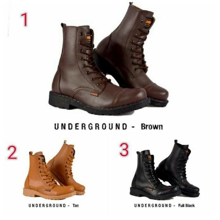 Jual Sepatu Pria Boots Macho Keren Original Hummer Underground Best ... 3cbada5aab