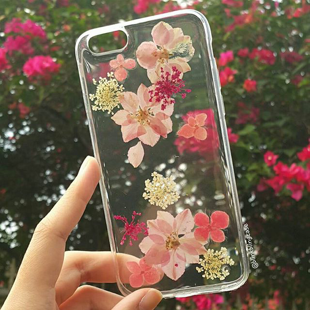 best loved afa04 64e2b Jual IPhone 6 plus 6+ Real Dried Flower Case   Casing unik lucu murah impor  - Jakarta Barat - BLINK BLING CASE   Tokopedia
