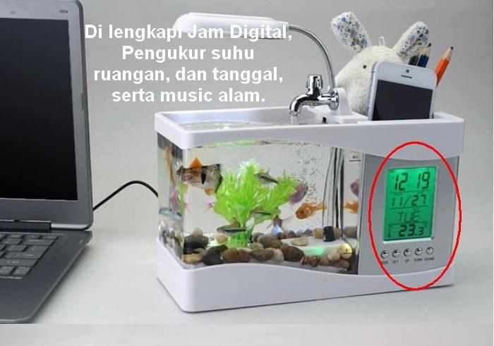 harga Nano usb mini aquarium akuarium dekstop meja Tokopedia.com
