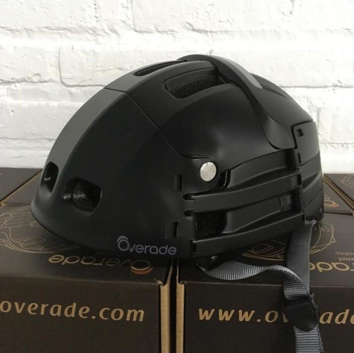 harga Helm lipat overade plixi foldable helmet - black Tokopedia.com