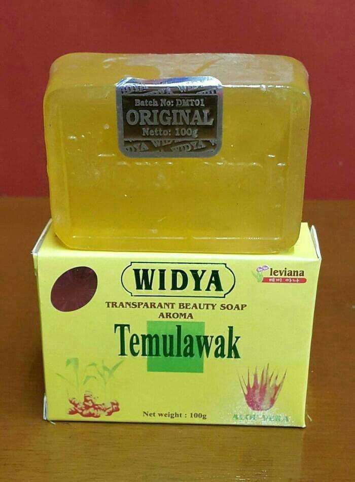 LEVIANA - Sabun Temulawak Widya Kotak Kuning Holo Pink Original BPOM