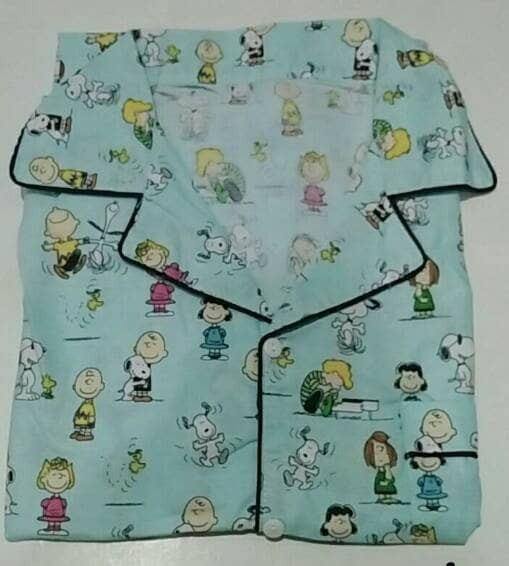 harga Piyama pria-snoppy & friends mens long pants pajama-baju tidur cowo Tokopedia.com
