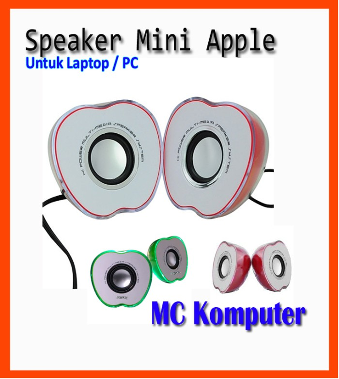 harga Speaker mini pc dan laptop multimedia apple Tokopedia.com