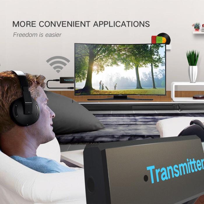 harga Usb stereo bluetooth transmiter, pemancar bluetooth untuk tv & laptop Tokopedia.com