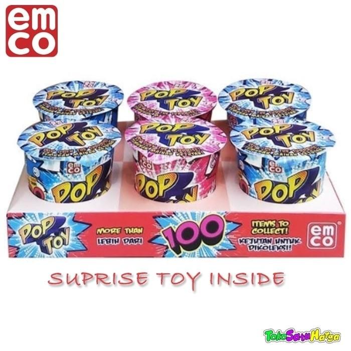 Jual Murah Emco Pop Toy Surprise Toys Like Kinder Joy Egg Mainan