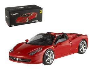1:43 Hot Wheels elite ferrari 458 italia 2009 red