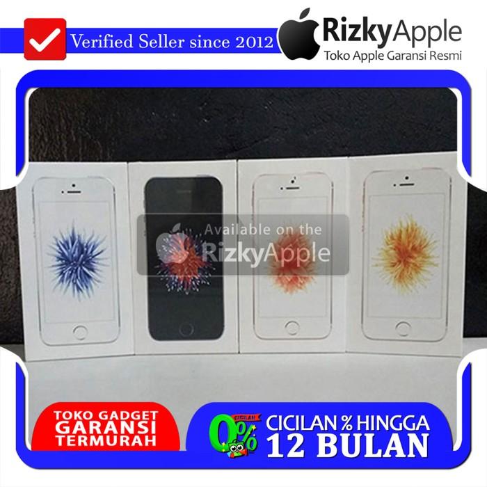 [ORIGINAL BNIB] iPhone SE 16GB Silver Garansi Apple 1 Tahun FU