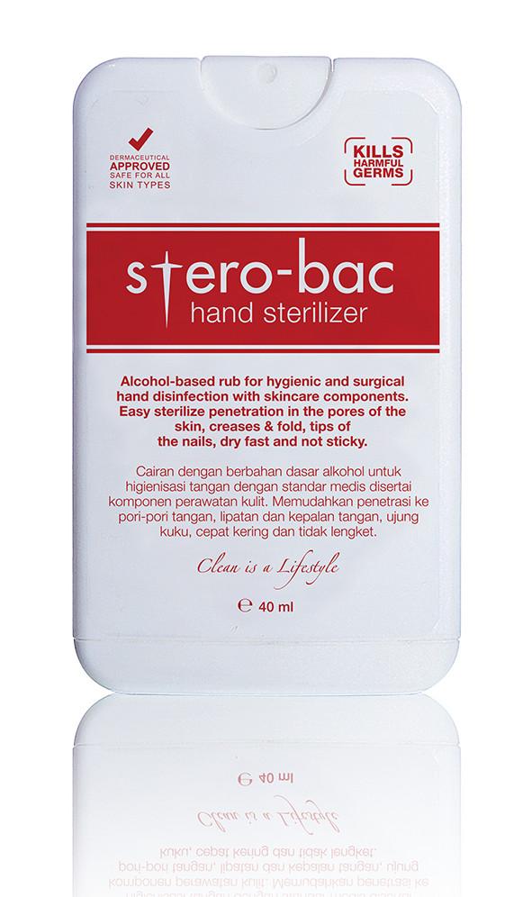 harga Stero-bac hand sterilizer alat pensteril tangan yang praktis stero bac Tokopedia.com