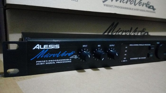harga Alesis microverb 4 - effect vocal Tokopedia.com