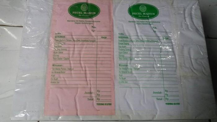 Jual Cetak Nota Bon Ncr Untuk Restoran Rumah Makan 13 Folio Rangkap 2 Kab Kudus Mahkotamuria Tokopedia