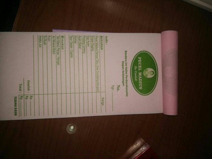 Jual Cetak Nota Bon Ncr Untuk Restoran Cafe Warung Makan 13 Folio 2 Ply Kab Kudus Mahkotamuria Tokopedia