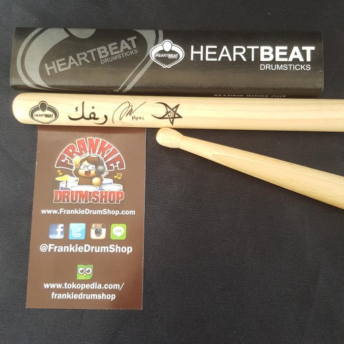 harga Heartbeat hbrifm - rifki 7 kurcaci artist signature maple stick drum Tokopedia.com