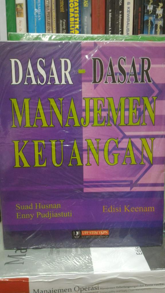 harga Buku dasar dasar manajemen keuangan by suad husnan Tokopedia.com
