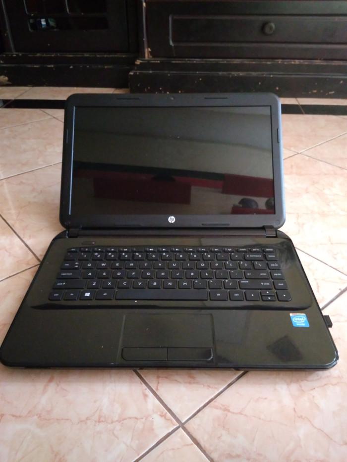 Jual Laptop Hp Notebook 14 D040tu Dual Core Ram 2gb Layar 14 Kab Bekasi Fayphoto Tokopedia