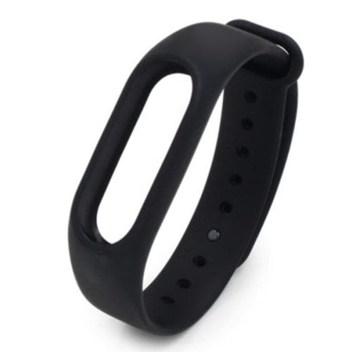 Promo Strap Gelang Tpu Replacement Xiaomi Mi Band 2 Lcd Oled Black